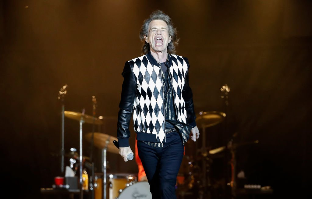 "Mick Jagger at his ""No Filter Tour"" North American Tour at the Soldier Field on June 21, 2019 