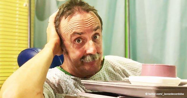 """Santi Rodríguez, la estrella de """"7 Vidas"""", hace una comedia de su reciente infarto"""