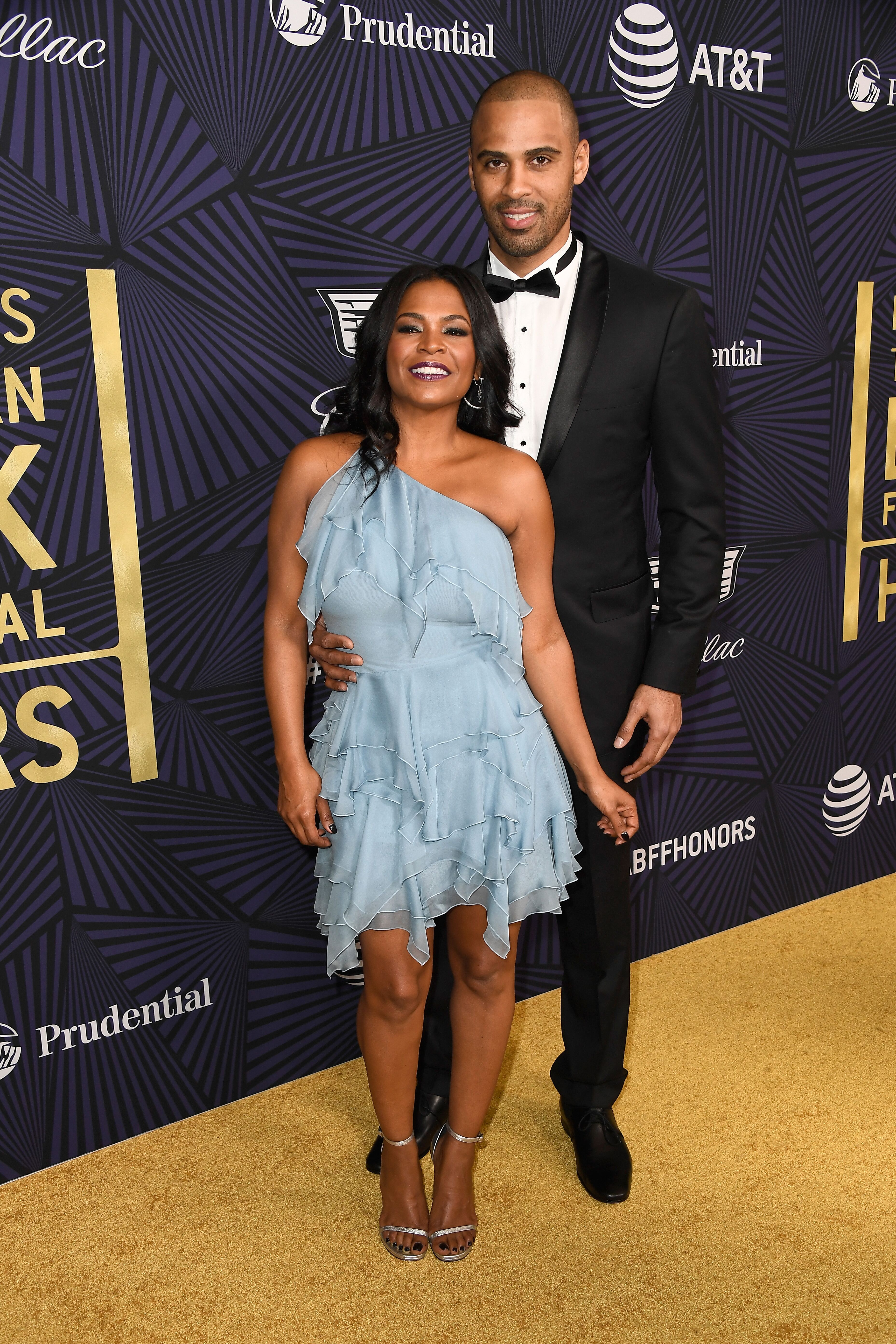 Nia Long and Ime Udoka at the American Black Film Festival Honors in 2017 in Beverly Hills | Source: Getty Images