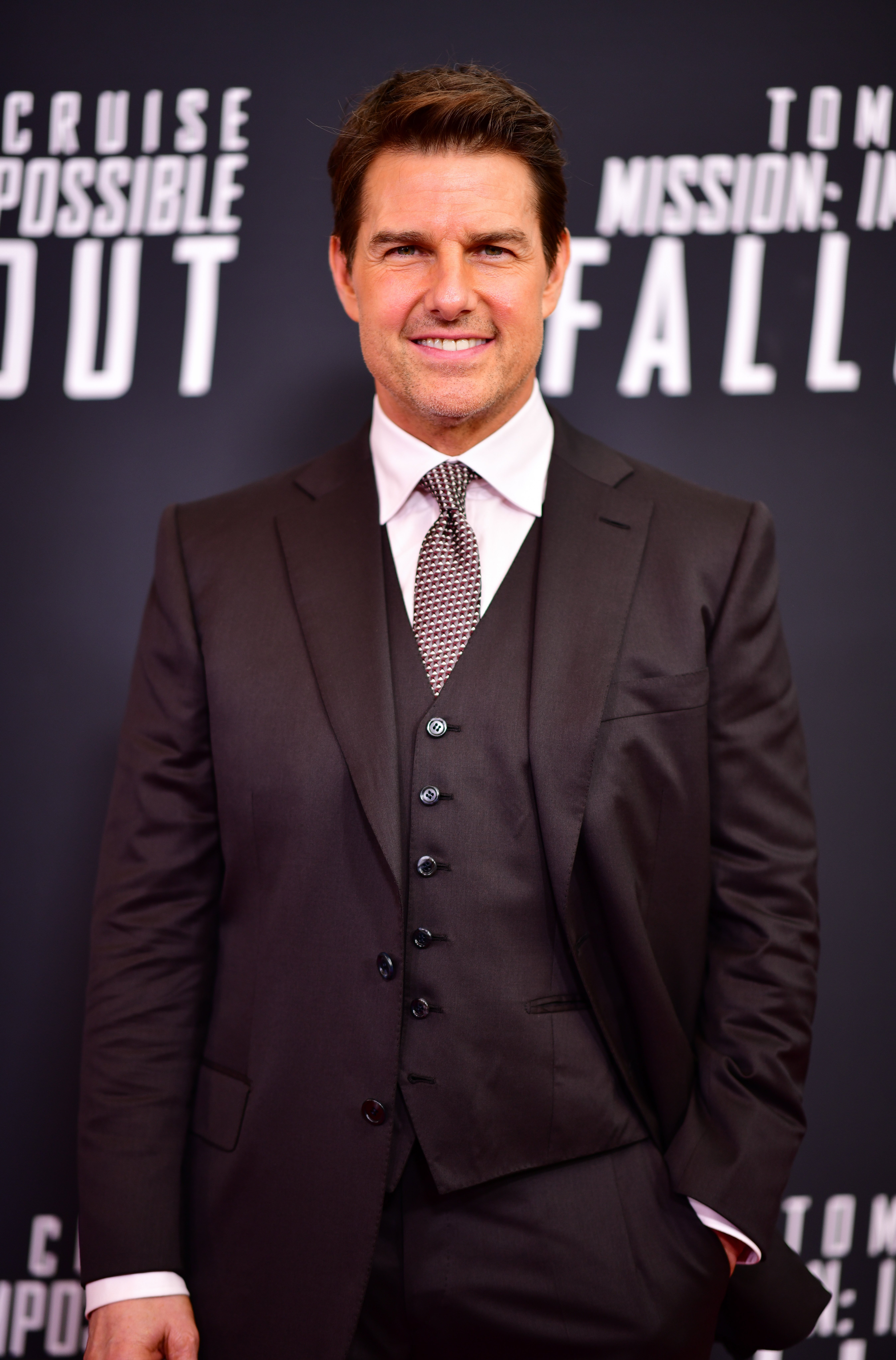 Tom Cruise at promotional event for Mission Impossible: Fallout | Photo: Getty Images