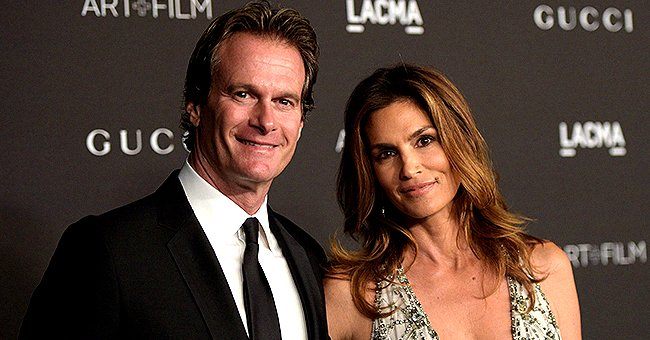 Cindy Crawford Celebrates 22nd Anniversary with Rande Gerber with a Precious Wedding Photo