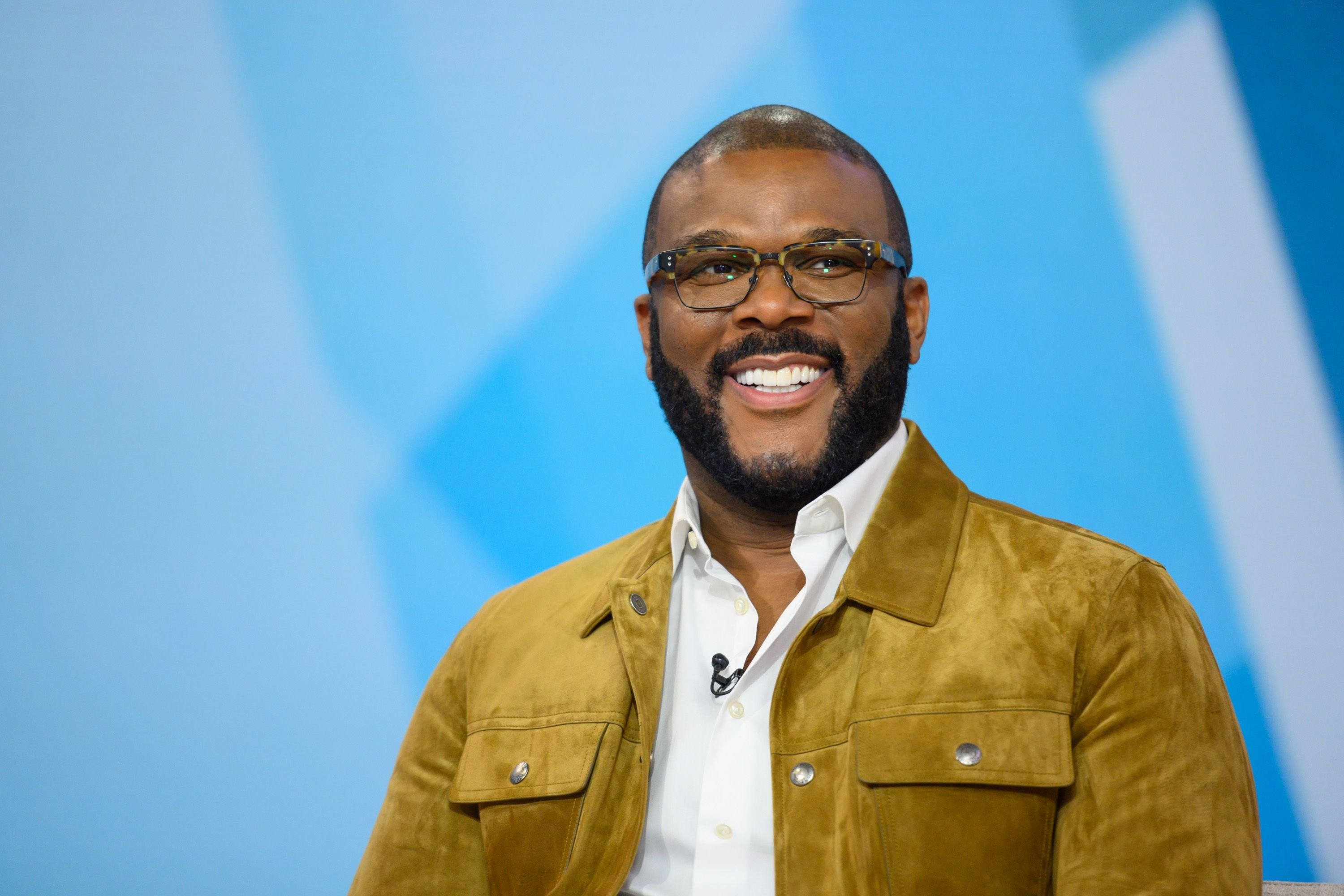 """Tyler Perry during a sit-down with """"Today,"""" on January 13, 2020.    Source: Getty Images"""