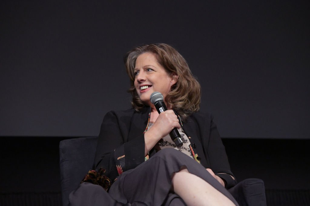 Special Guest Tracy Nelson speaks onstage at the screening of 'Yours, Mine, and Ours' at the 2019 TCM 10th Annual Classic Film Festival on April 14, 2019   Photo: Getty Images