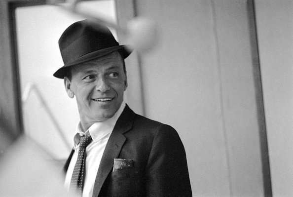 American singer and actor Frank Sinatra at a recording session for 'Come Blow Your Horn', Hollywood, California, January 01, 1963. | Photo: Getty Images