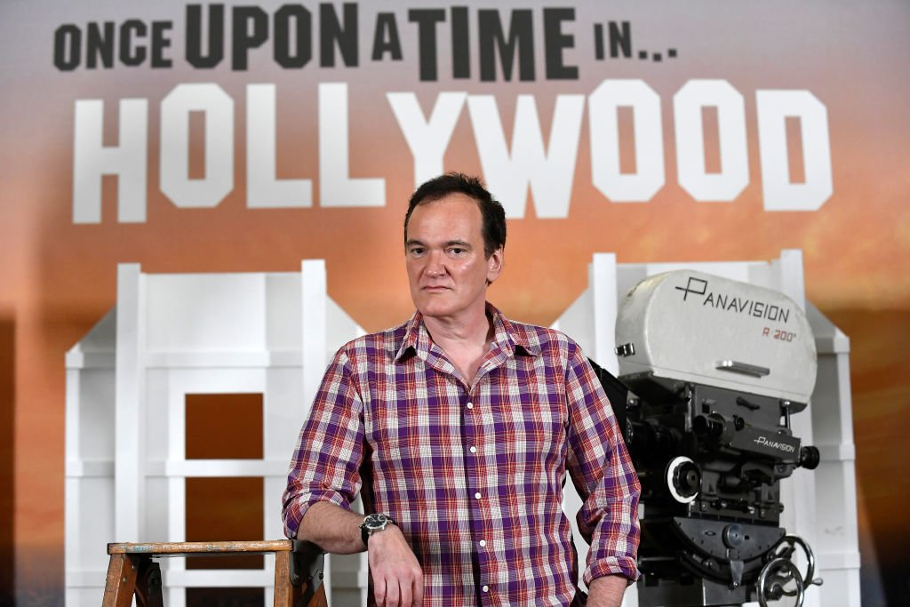 """Director Quentin Tarantino attends the photo call for Columbia Pictures' """"Once Upon A Time In Hollywood"""" at Four Seasons Hotel Los Angeles at Beverly Hills on July 11, 2019 in Los Angeles, California.   Source: Getty Images"""