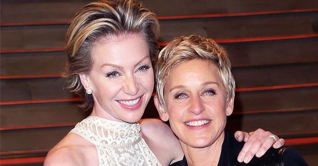 Ellen DeGeneres and Wife Portia De Rossi Celebrate Their 11th Anniversary (Photo)