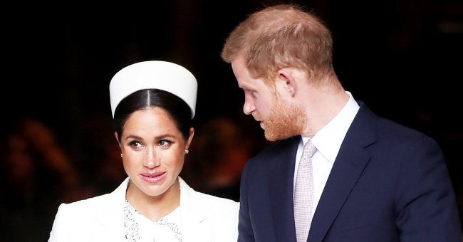 Here's the Alleged Reason Why Meghan and Harry Stood That Far from William and Kate on the Balcony