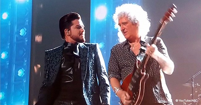 Adam Lambert and Queen Earn Standing Ovations for Their Magnificent Performance at the Oscars