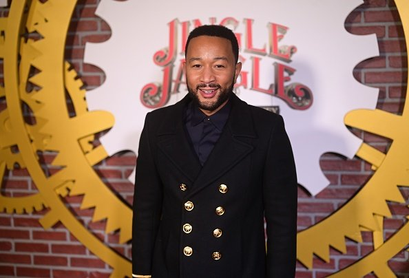 John Legend at The Grove on November 13, 2020 in Los Angeles, California. | Photo: Getty Images