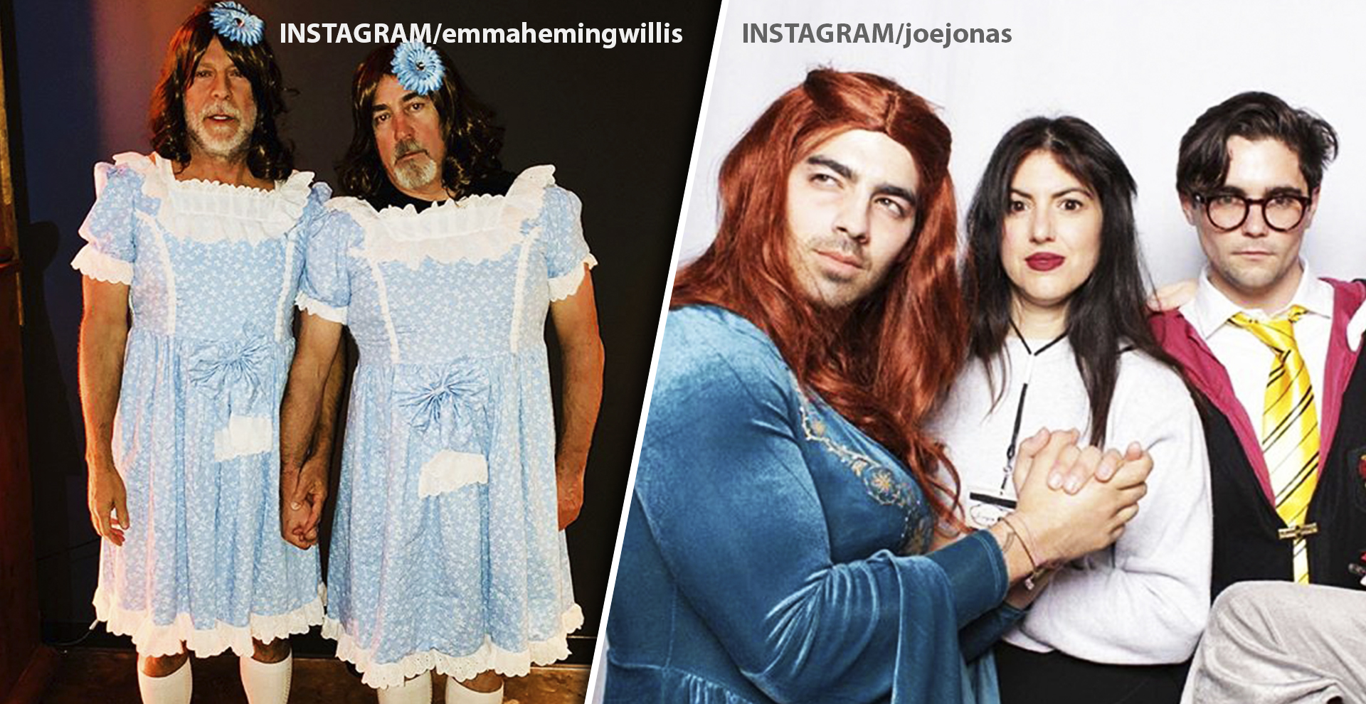 Food And Dresses: The Weirdest Celebrity Halloween Costumes