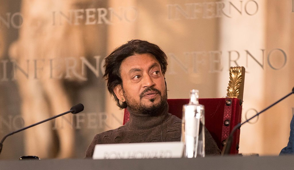 L'acteur Irrfan Khan assiste à l'INFERNO Photo Call & Conférence de presse au Hall of the Five Hundred le 6 octobre 2016 à Florence. | Photo : Getty Images