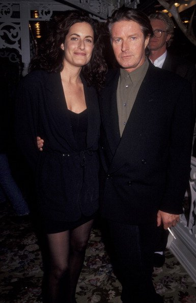 Don Henley and Sharon Summerall on October 21, 1991 at Tavern on the Green in New York City, New York. | Photo: Getty Images