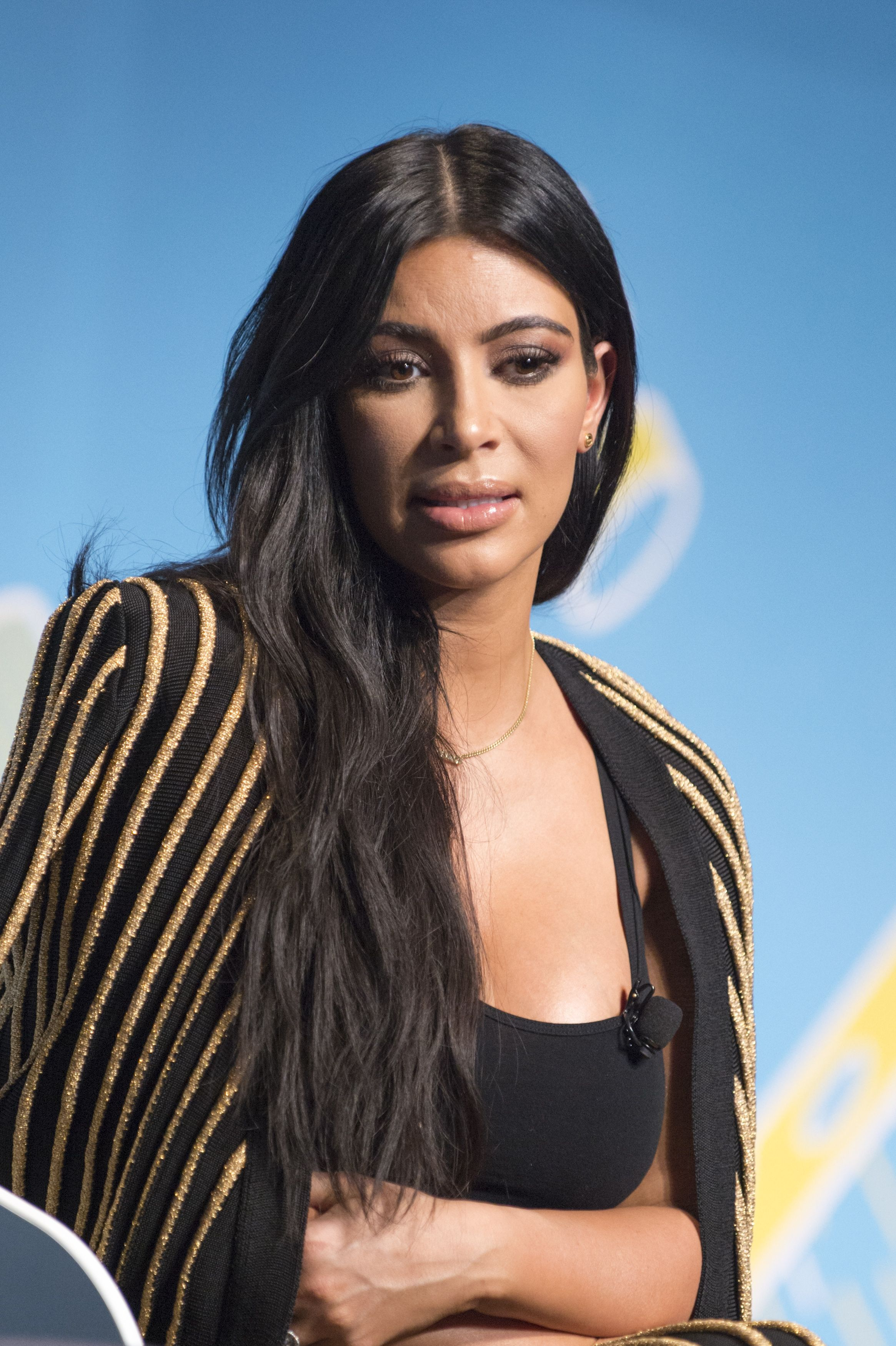 Kim Kardashian during the Sudler forum as part of the Cannes Lions International Festival of Creativity on June 24, 2015 in Cannes, France. | Source: Getty Images