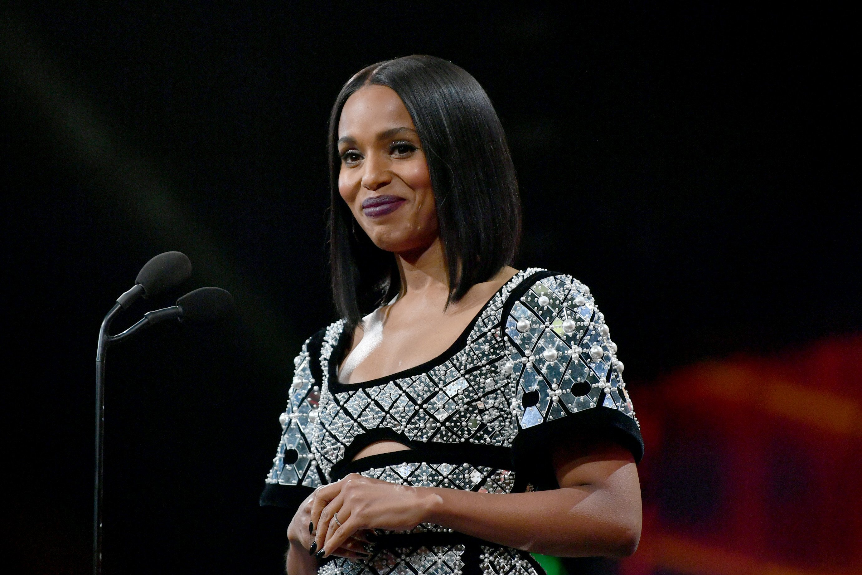 Kerry Washington at the British Academy Britannia Awards on Oct. 25, 2019 in California | Photo: Getty Images