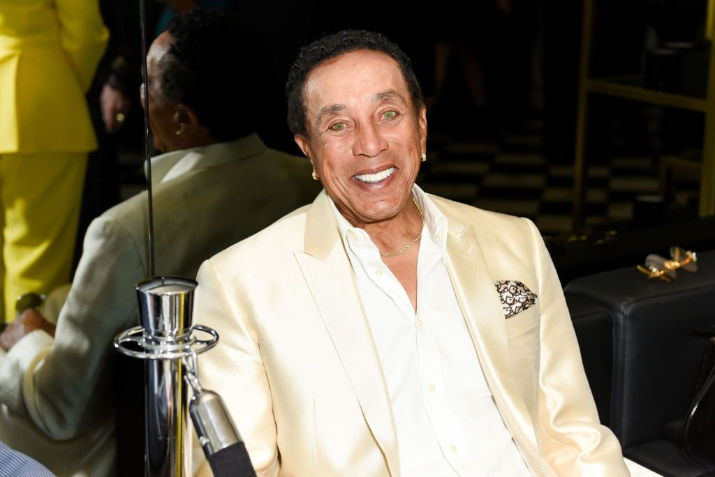 Smokey Robinson attends Ira and Bill DeWitt's Saint candle launch benefiting St. Jude Children's Research Hospital at MR CHOW on June 12, 2019  | Photo: Getty Images