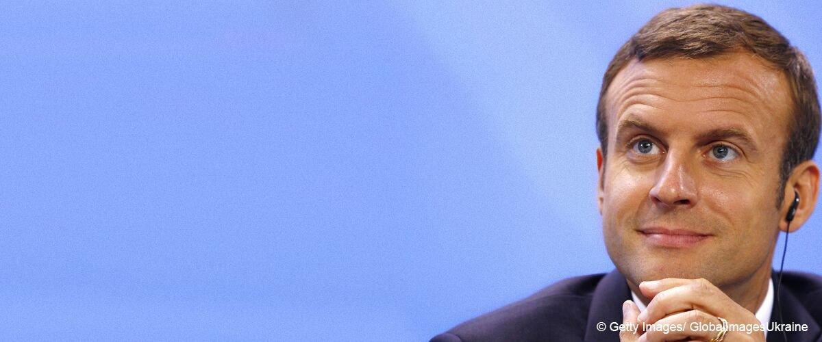 Emmanuel Macron, en jean, a aidé un sans-abri allongé dans la rue (photos)