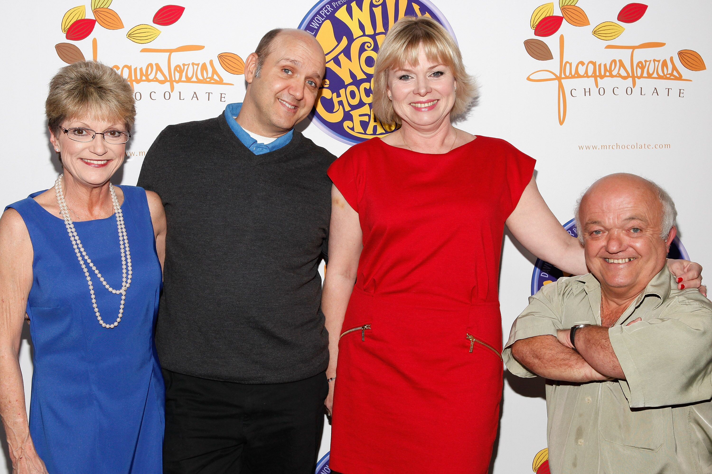"""Denise Nickerson and the cast of """"Willy Wonka.""""   Source: Getty Images"""