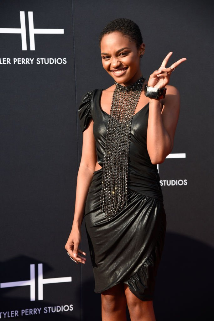 China Anne McClain attends Tyler Perry Studios grand opening gala at Tyler Perry Studios | Photo: Getty Images