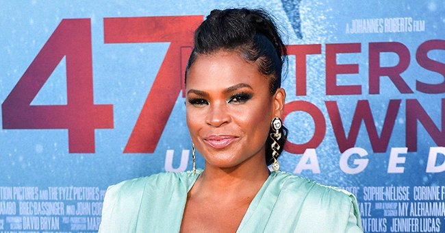 """Nia Long at the LA Premiere of Entertainment Studios' """"47 Meters Down Uncaged"""" at Regency Village Theater on August 13, 2019. 