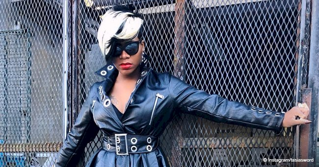 Fantasia Barrino flaunts snatched waist in black leather dress & thigh-high boots in recent pics