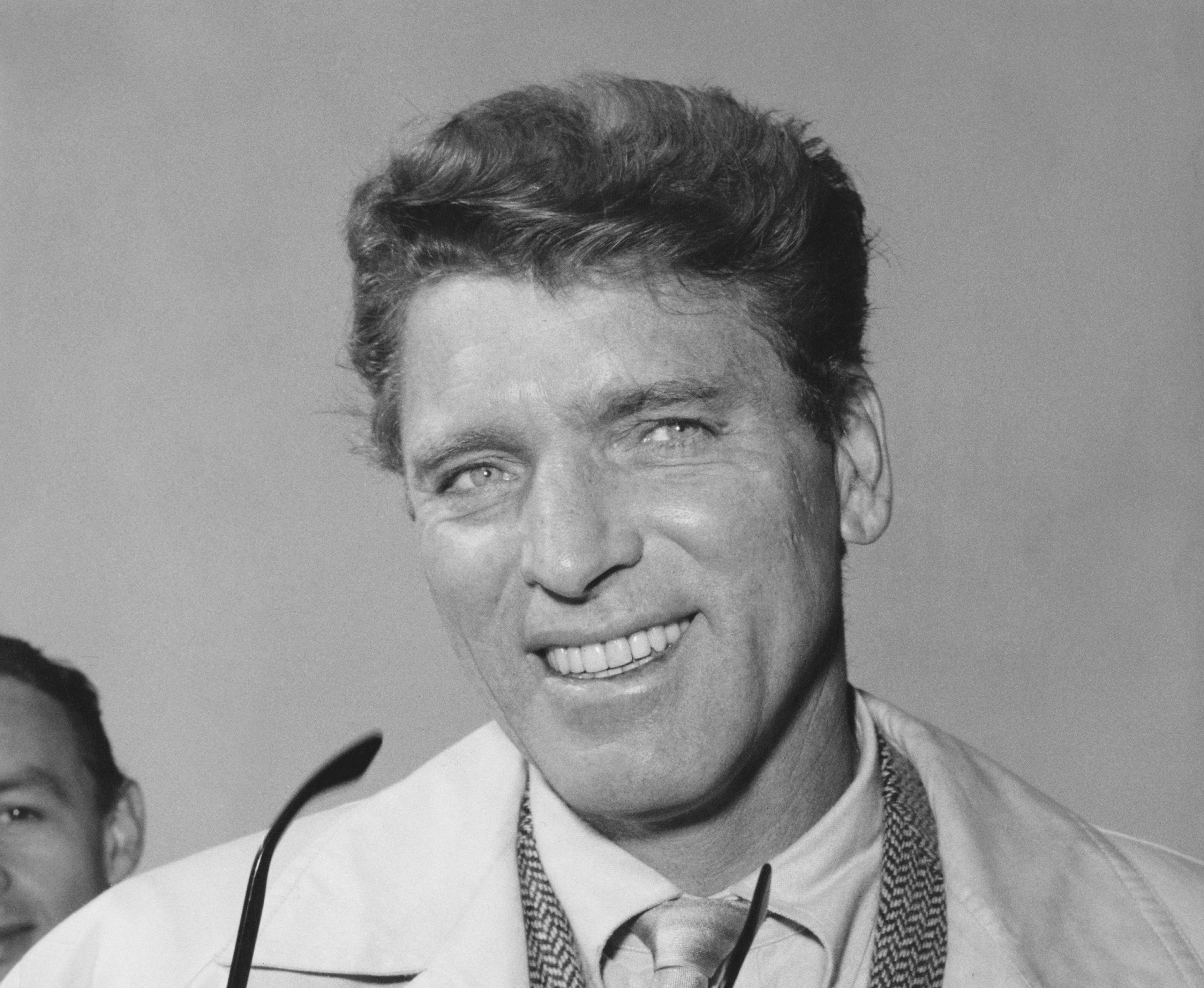 Burt Lancaster en Roma en 1962. || Fuente: Getty Images