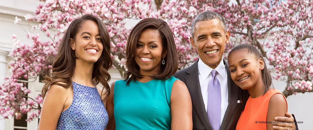 Barack Obama teilt ein Familienfoto mit seiner Osterbotschaft