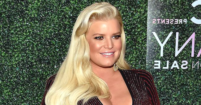 Jessica Simpson Looks Fit as She Cradles Mini-Me Daughter Birdie Mae