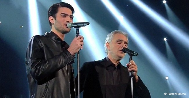 Andrea Bocelli and his son won a standing ovation in yet another emotional performance