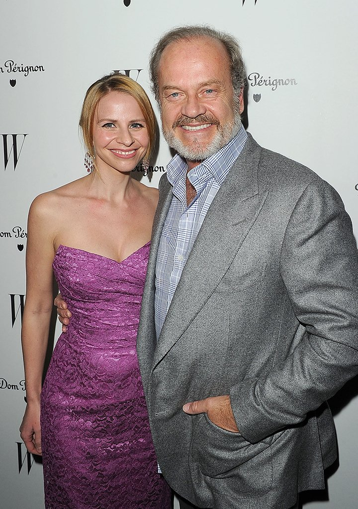 Actor Kelsey Grammer and his fourth wife Kayte. I Image: Getty Images.