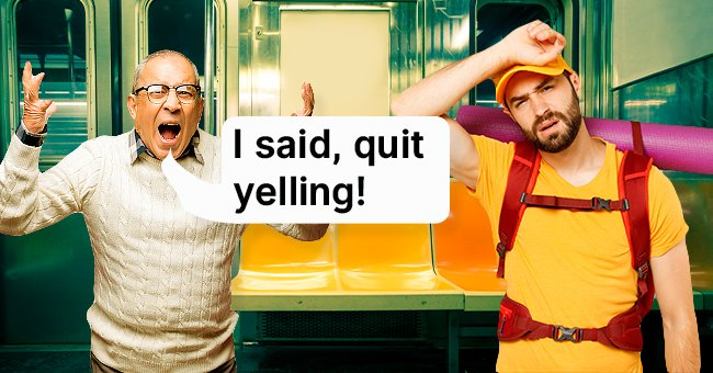 The old man wanted the traveler to stop yelling! | Photo: Shutterstock