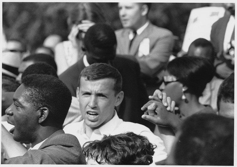 Protesters in the March on Washington   Source: U.S. National Archives and Records Administration/ Public Domain
