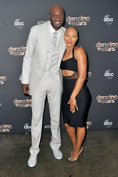 Lamar Odom and Sabrina Parr at CBS Televison City on October 07, 2019 | Photo: Getty Images