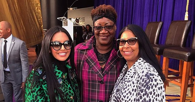 Magic Johnson's Wife Cookie and Vanessa Bryant Smile in a Throwback Photo