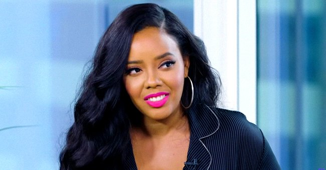 Angela Simmons Wows Flaunting Her Curves in a Tight Top & Pants in Front of a Range Rover