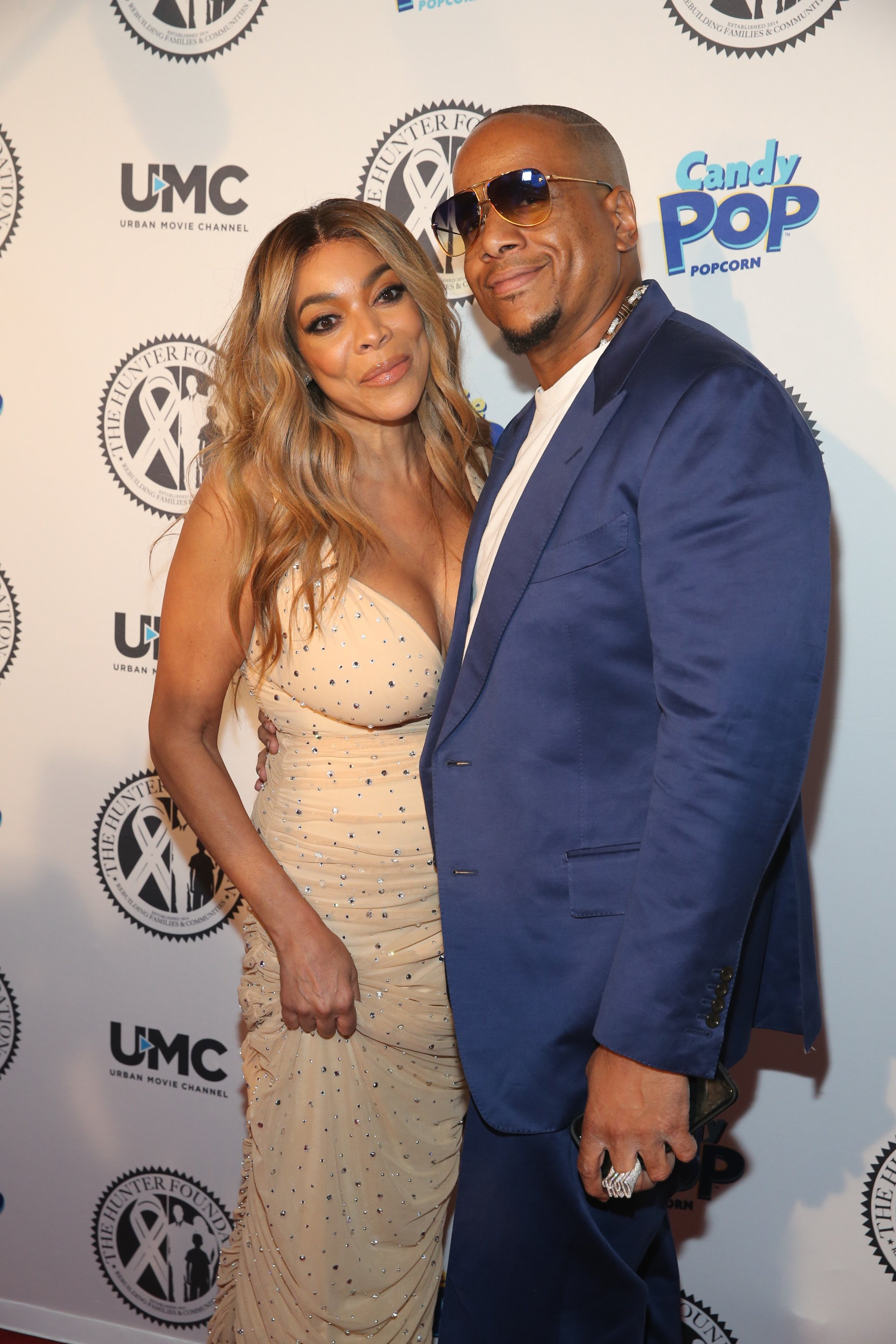 Wendy Williams & Kevin Hunter at The Wendy Williams and The Hunter Foundation Gala on July 18, 2018 in New York.   Photo: Getty Images