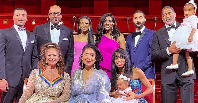 Debbie Allen and Her Family Pose Together at the Kennedy Center in a New Photo