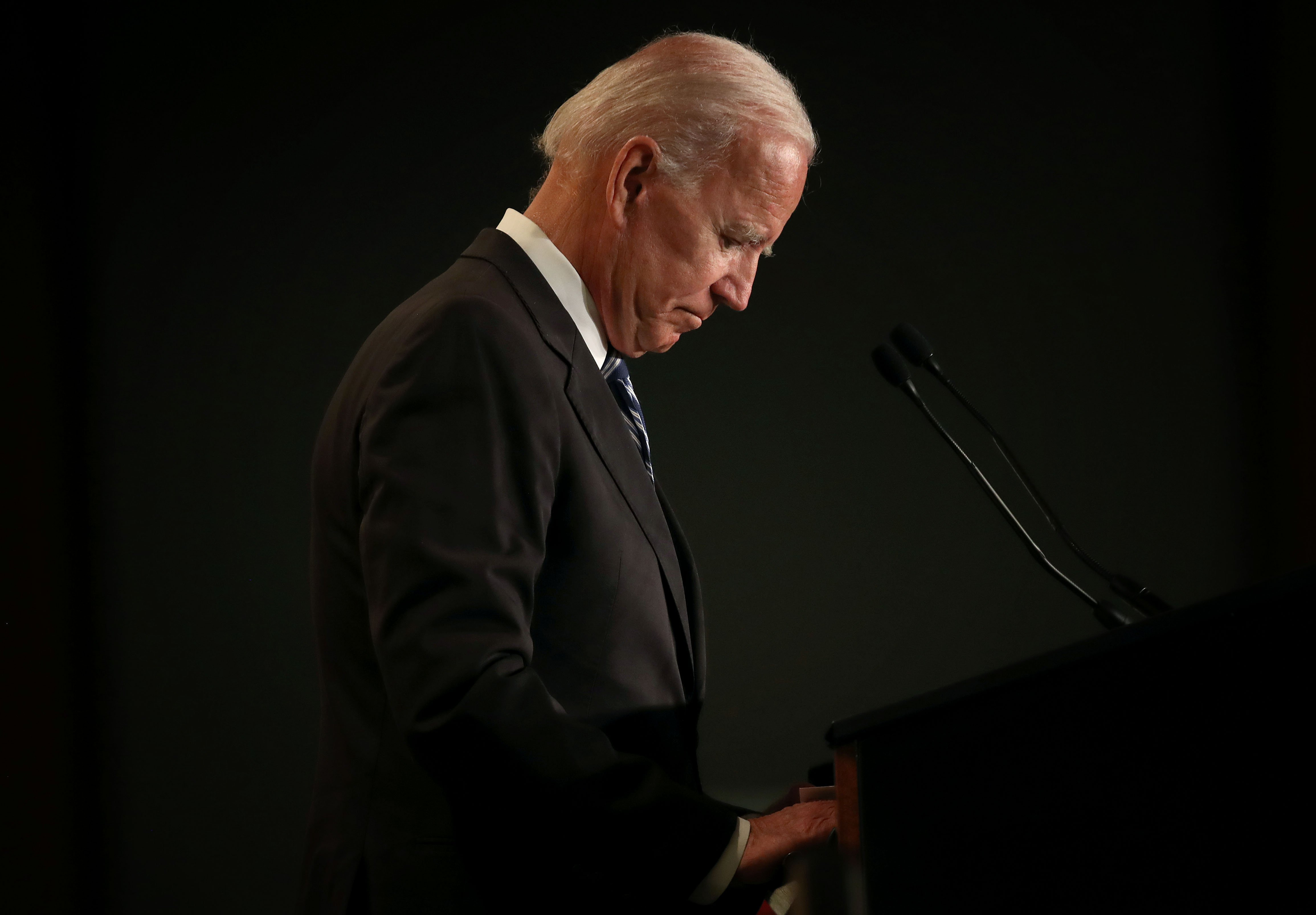 Joe Biden at the International Association of Fire Fighters legislative conference in Washington, DC | Photo: Getty Images