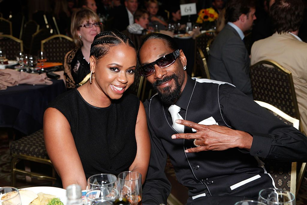 Shante Broadus and Snoop Dogg attend the 10th Annual Harold Pump Foundation Gala on August 12, 2010 in Century City, California. | Source: Getty Images