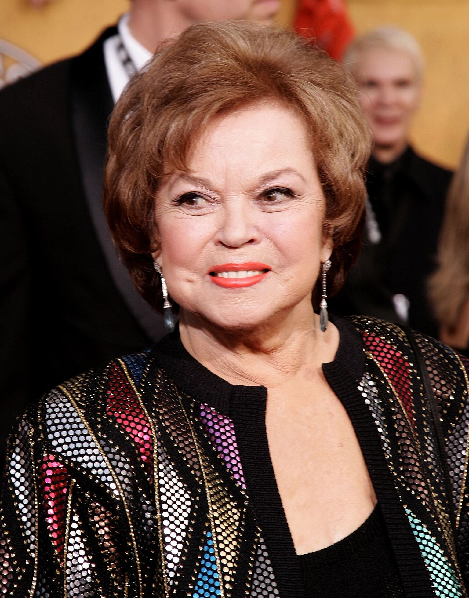 Shirley Temple Black arrives at the 12th Annual Screen Actors Guild Awards | Getty Images