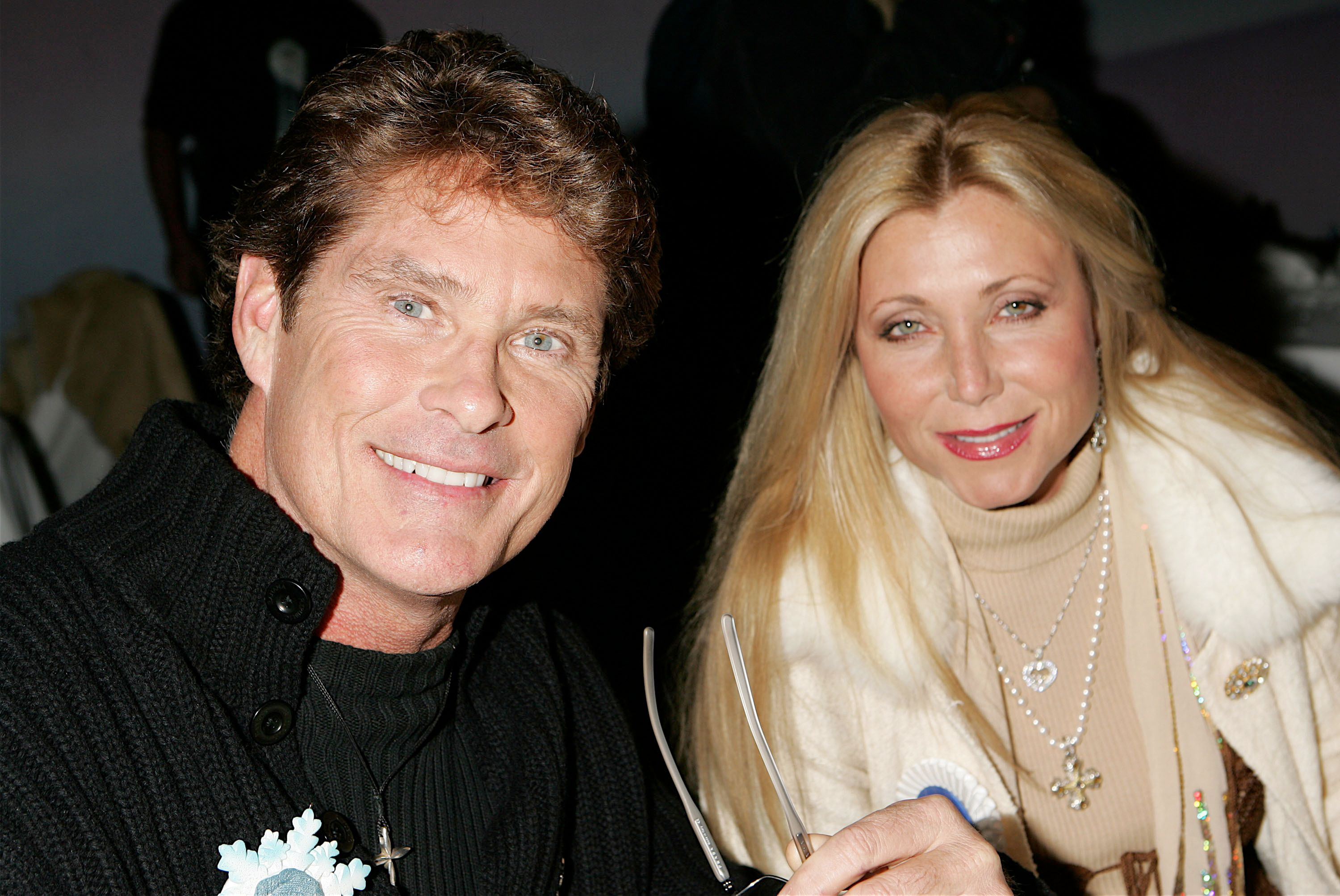 David Hasselhoff and Pamela Bach-Hasselhoff at the 2005 Hollywood Christmas Parade | Source: Getty Images