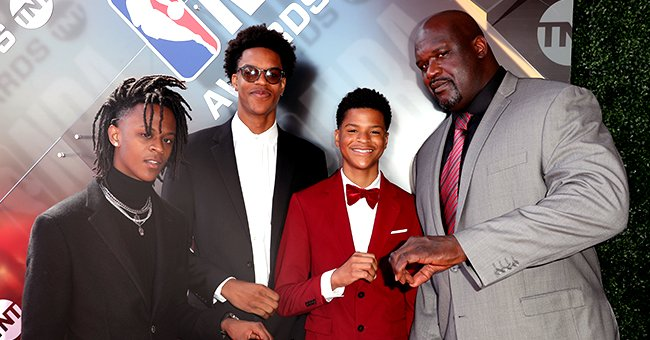Shaquille O'Neal's Sons Shareef and Myles Share Sweet Tributes & Photos to Celebrate Dad's 48th Birthday