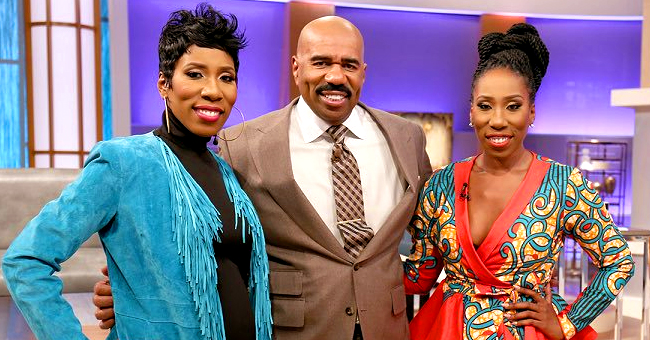 'Family Feud' Host Steve Harvey's Twin Daughters Are Now 37 and Have an Uncanny Resemblance to Him