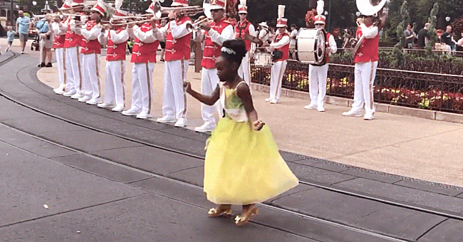 Sydney Elise Russell Goes Viral for Dressing like Princess Tiana and Dancing at Disney World