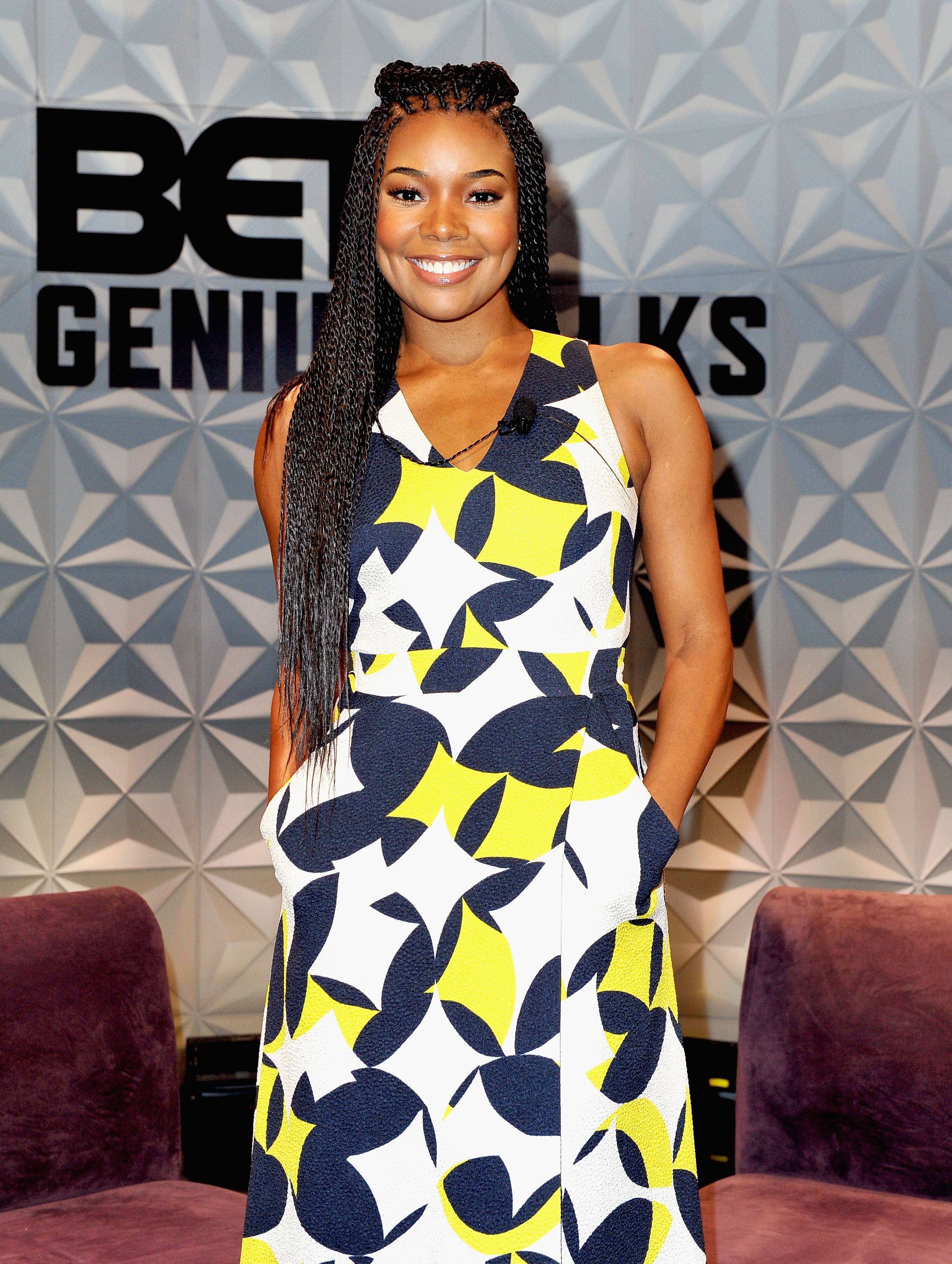 Gabrielle Union during the Genius Talks sponsored by AT&T during the 2016 BET Experience on June 25, 2016 in Los Angeles, California. | Source: Getty Images