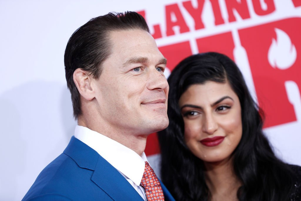 "John Cena und Shay Shariatzadeh besuchen die New Yorker Premiere von ""Playing With Fire"" im AMC Lincoln Square Theatre. (Foto von John Lamparski / FilmMagic) 
