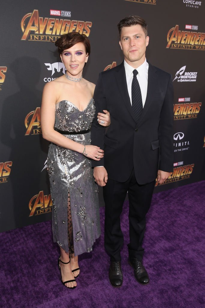 Scarlett Johansson and Colin Jost. I Image: Getty Images.