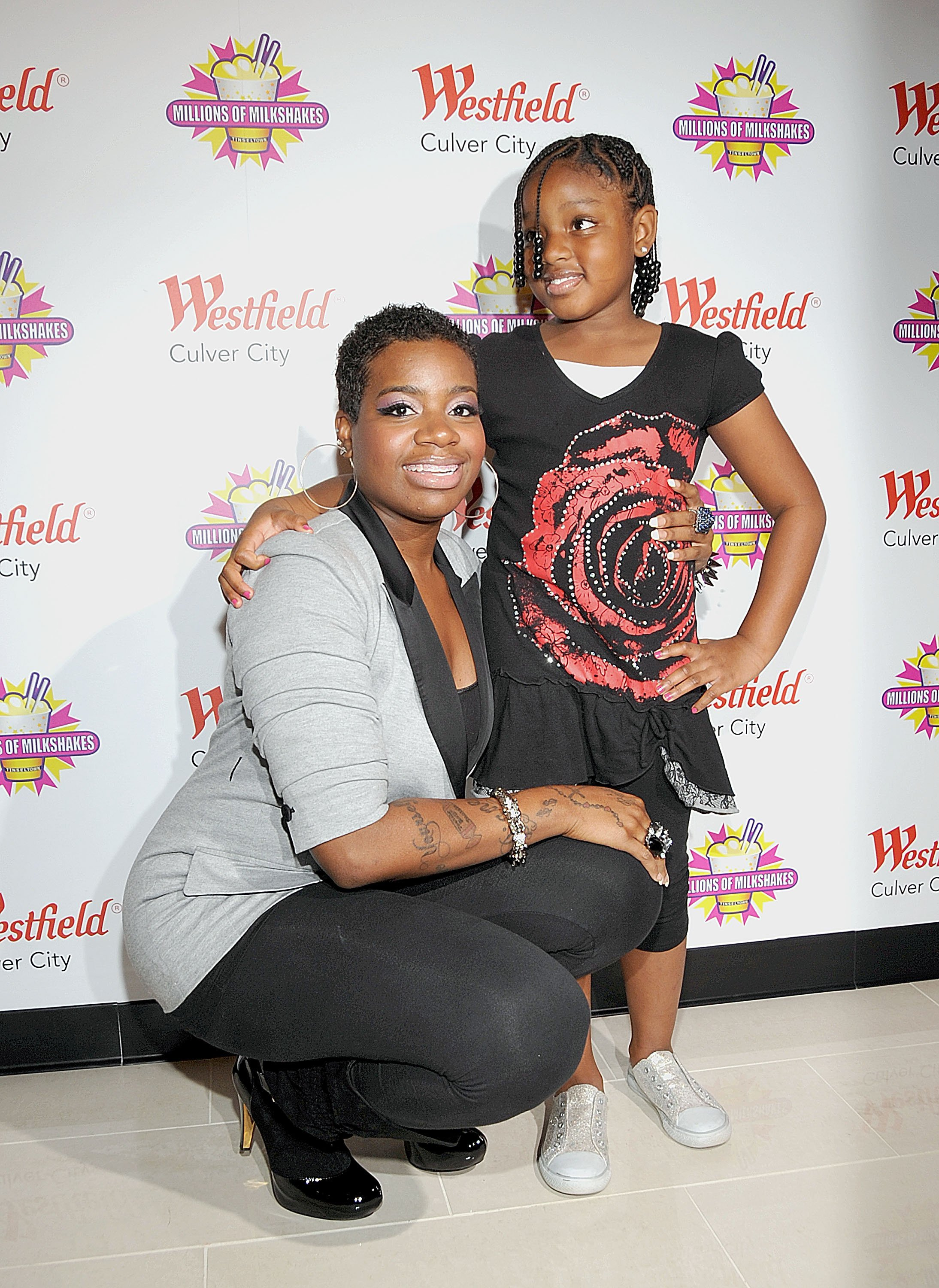 Fantasia and her daughter, Zion Barrino at Millions of Milkshakes on November 24, 2010 in Culver City, California. | Source: Getty Images