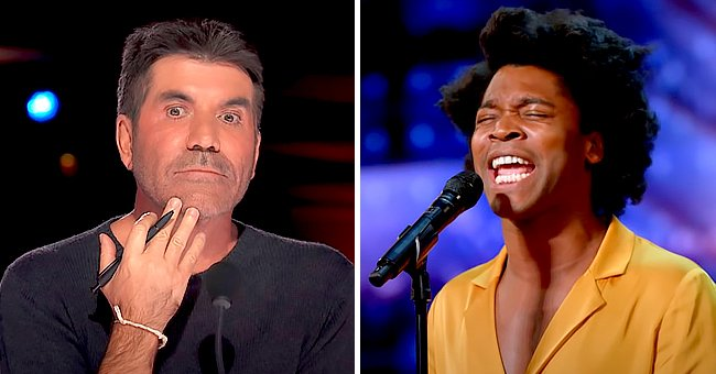 'AGT' Singer Gets Standing Ovation from Simon Cowell After He Called His Song 'the Worst'