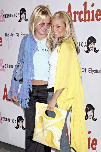 """Nicole Richie and Courtney Wagner attend the Launch of Miramax Films, Archie Comics and Kitson New Apparel Line Featuring """"Betty and Veronica"""" on May 24, 2004, at Kitson Retail Store, in Beverly Hills, California. 