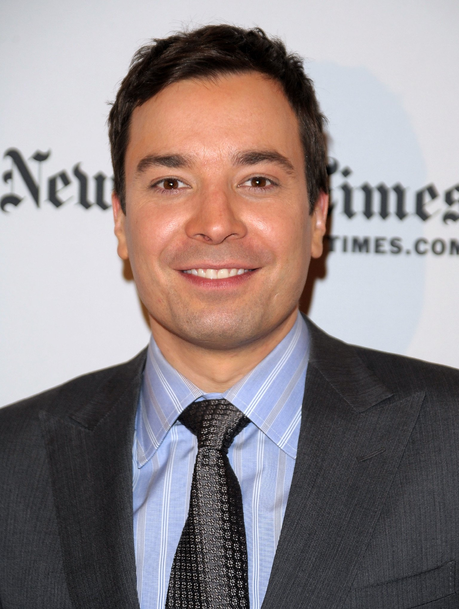 Television personality Jimmy Fallon attends the 9th Annual New York Times Arts & Leisure Weekend at The Times Center on January 8, 2010 | Photo: Getty Images
